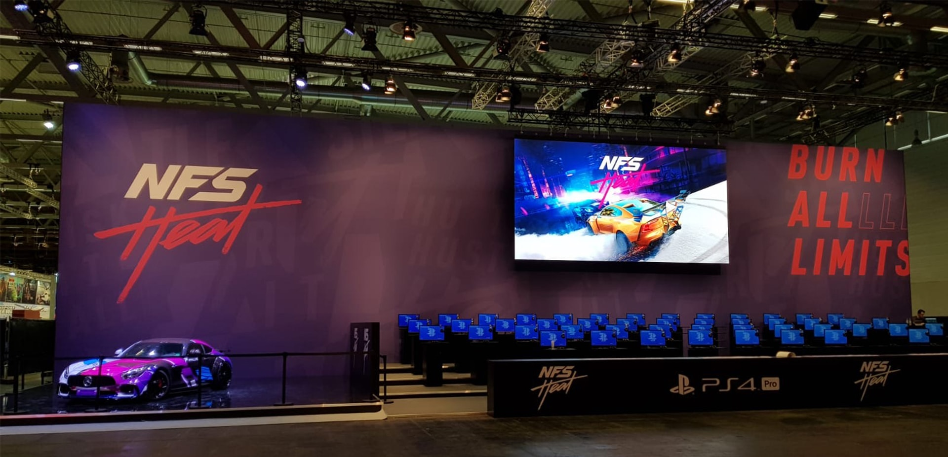 Gamescom Need for Speed Booth