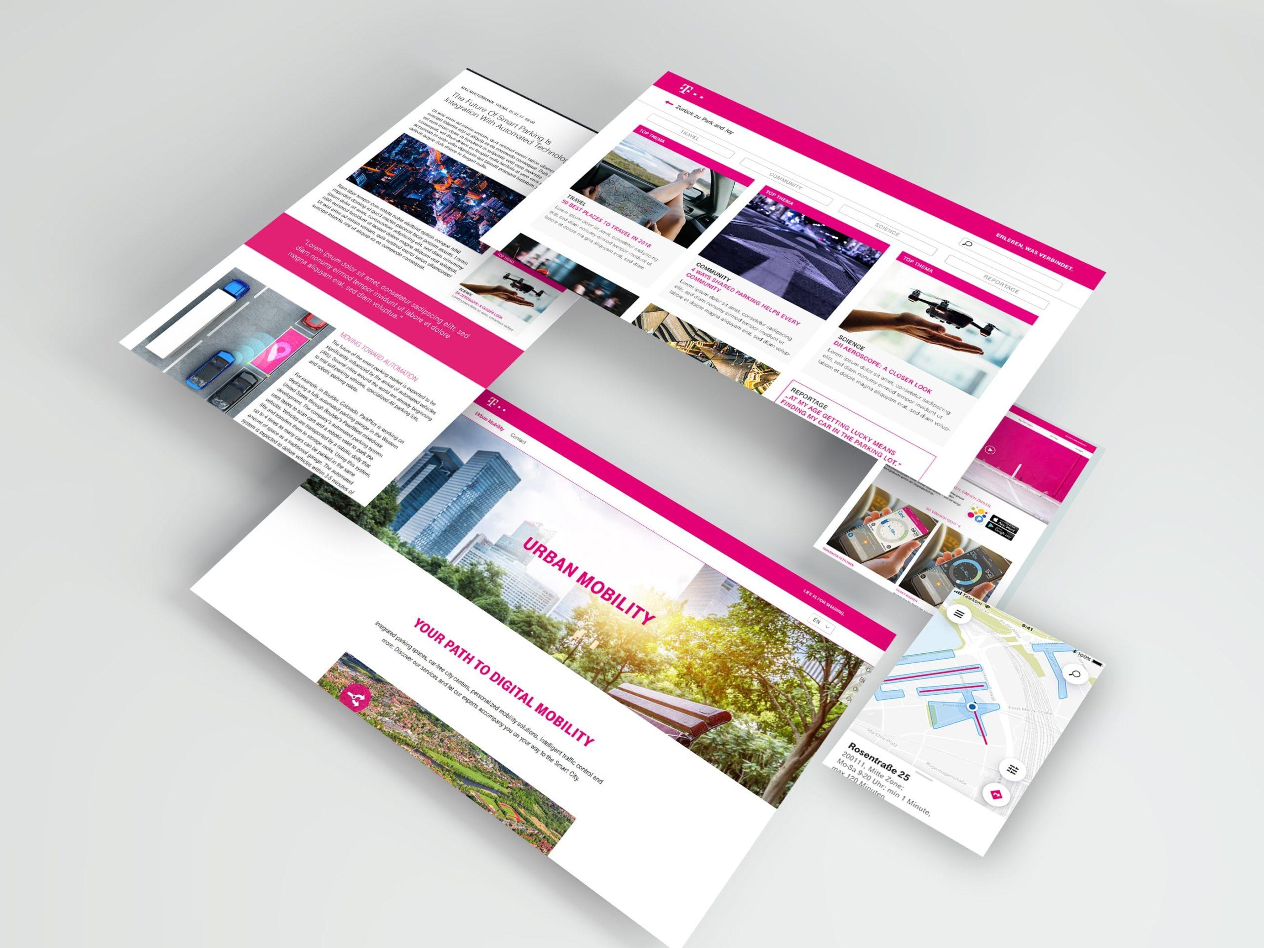 Deutsche Telekom Park and Joy App Final