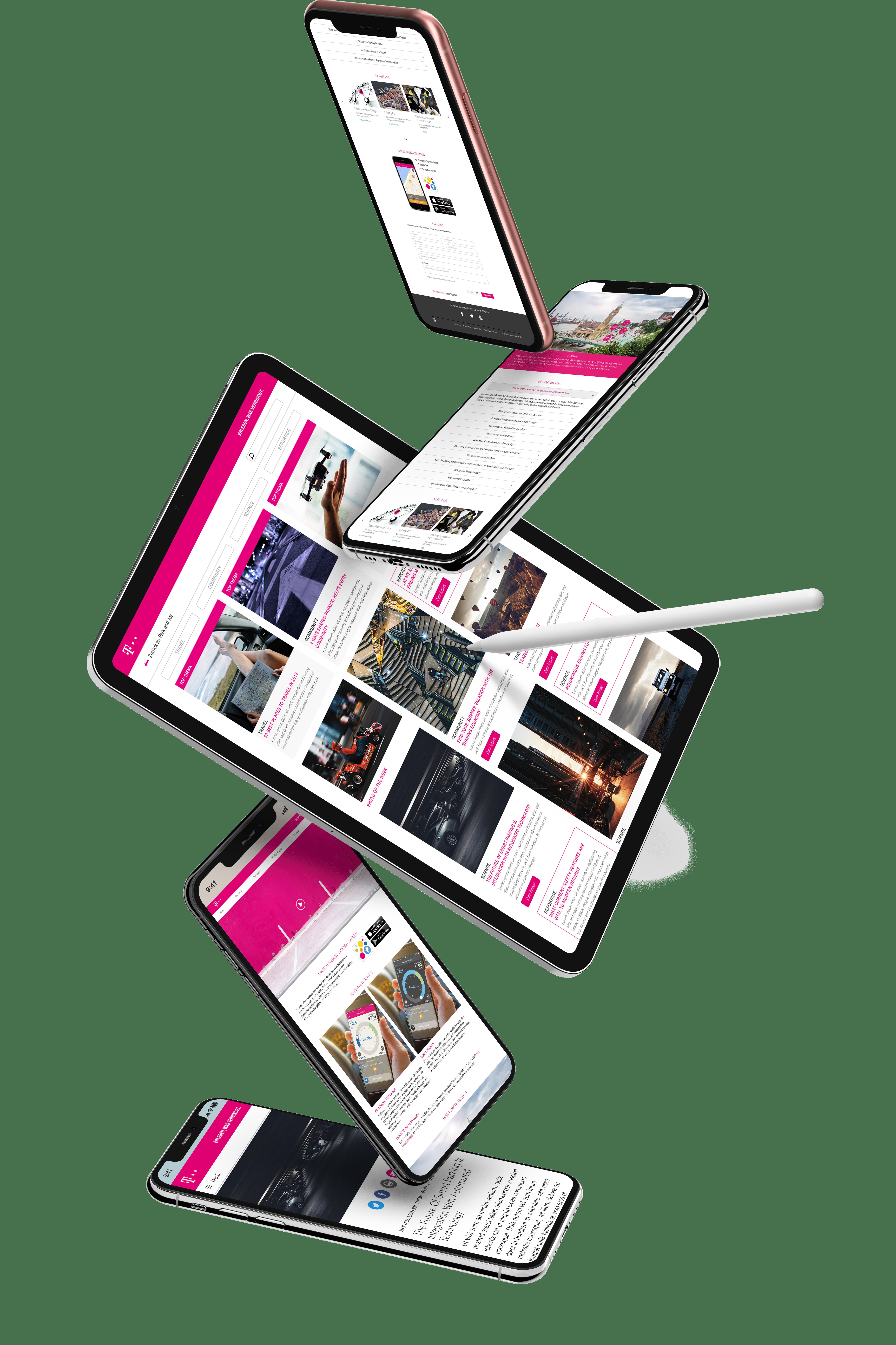 Deutsche Telekom Park and Joy mockup