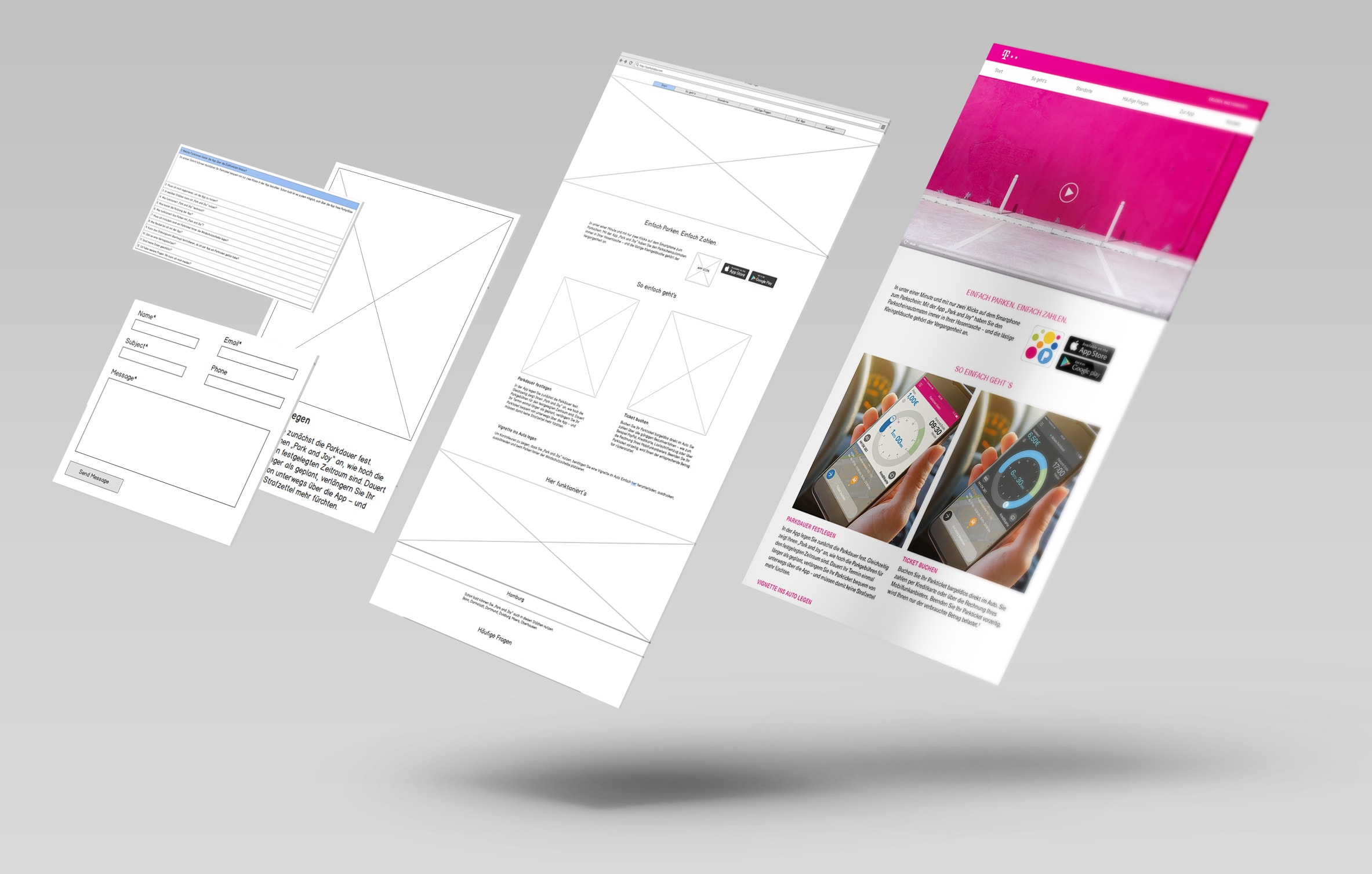 Deutsche Telekom ParkandJoy Process