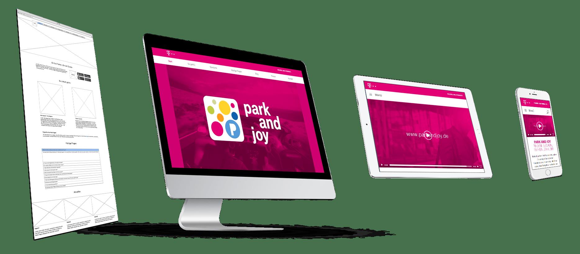 Deutsche Telekom Park and Joy Hero Shot