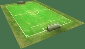 Football Empire Football pitch asset