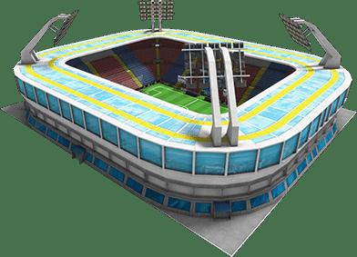 Football Empire Stadion asset