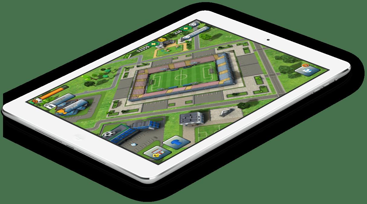 Football Empire iPad Mockup