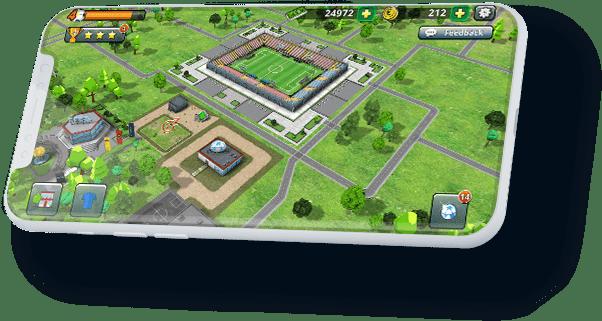 Football Empire iPhone Mockup