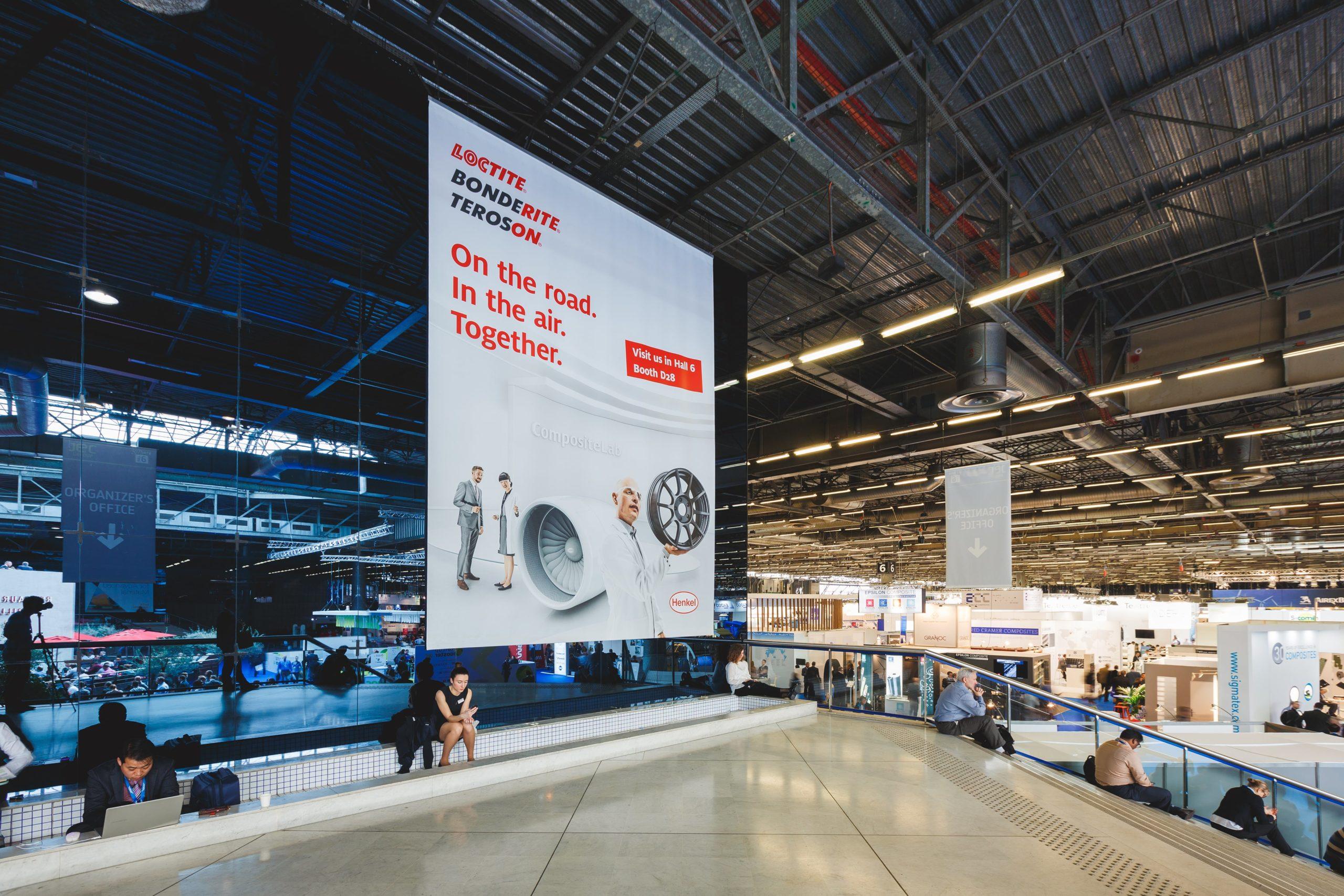 Henkel JEC Exhibition