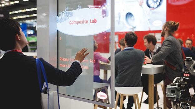 Henkel OLED JEC Exhibition