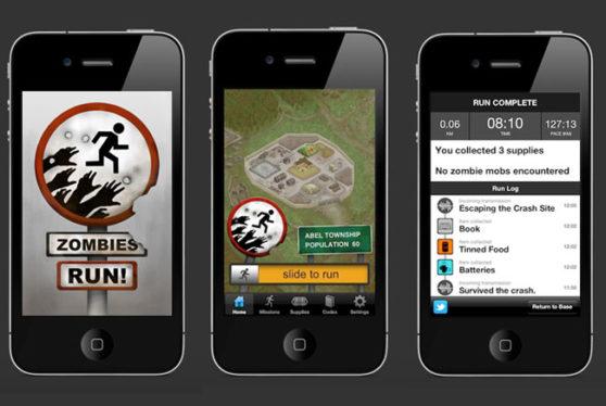 Zombies Run Gamification running App
